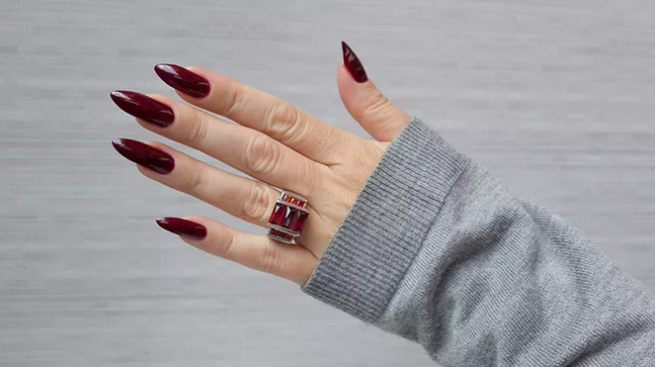 Nail design shape