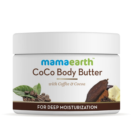 Mama earth coco body butter with coffee and cocoa