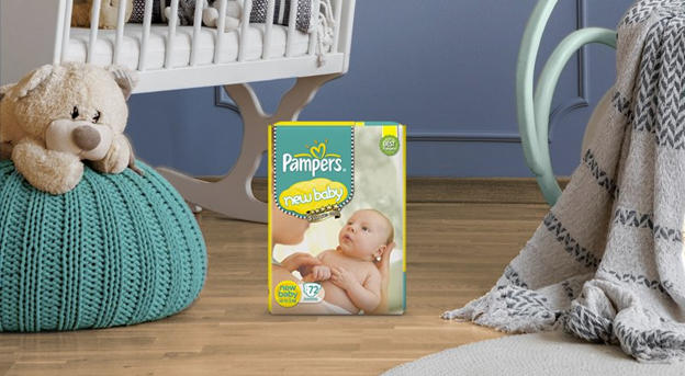 pampers new baby products
